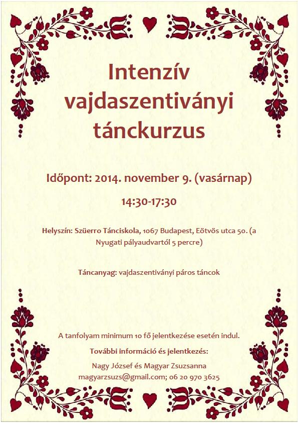 Vajdaszentiványi minitanfolyam_2014-11-09_plakát